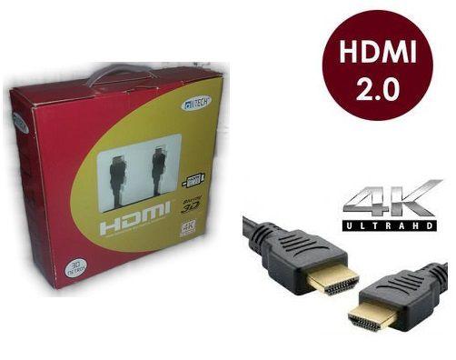 Cabo Hdmi 2.0-19 Pinos Ethernet 30 Metros 4k Ultra Hd 3d C/filtro