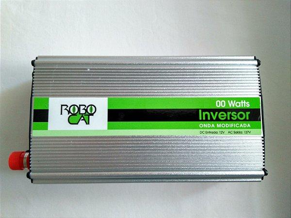 Inversor e conversor de Tensão 500w-12v-P/110v-Onda Senoidal Modificada