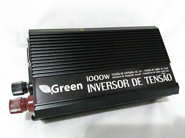 Inversor De Energia e conversor de Tensão 1000w-12V-P/220V Onda Senoidal Modificada