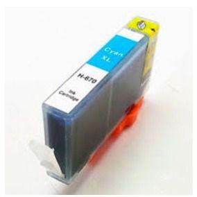 Cartucho de Tinta Compatível com HP 670XL CIANO CZ118AB 4625 4615 5525