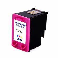 Cartucho de Tinta Compatível com HP 9 ml 60XL 60 Color CC644WB | F4480 F4580 F4280 D1660 C4780 C4680