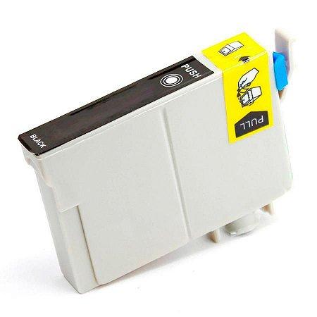 Cartucho de Tinta Compatível Epson 11ml  T063120 T0631 T063 Preto  C67 C87 CX3700 CX7700