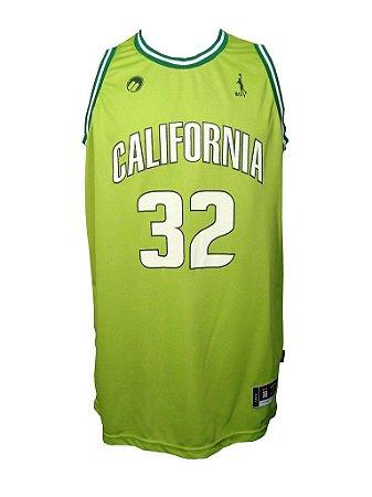 Regata Basquete California 32 Verde