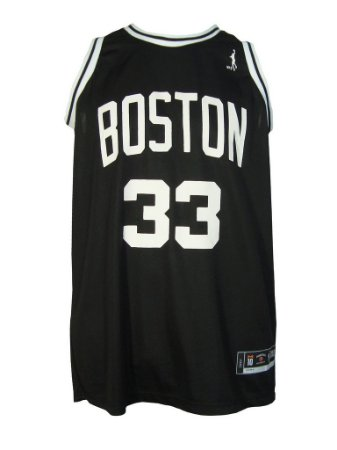 Regata Basquete Boston 33 Preto