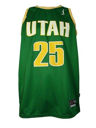 Regata Basquete Utah 25 Verde