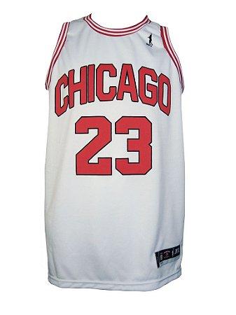 Regata Basquete Chicago 23 Branco