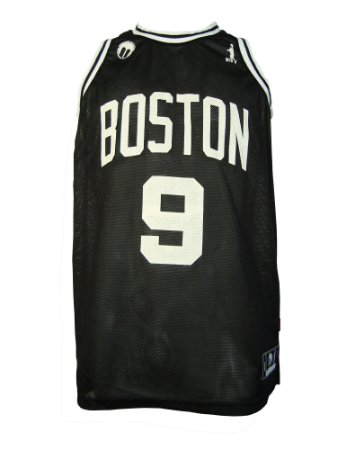 Regata Basquete Boston 9 furad Preto