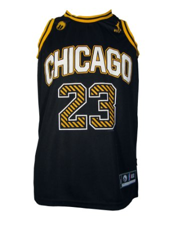 Regata Basquete Chicago 23 alternate Preto