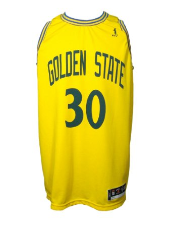 Regata Basquete Golden State 30 Amarelo