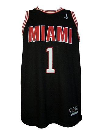 Regata Basquete Miami 1 pro Preto