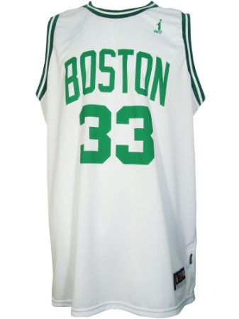 Regata Basquete Boston 33 big Branco