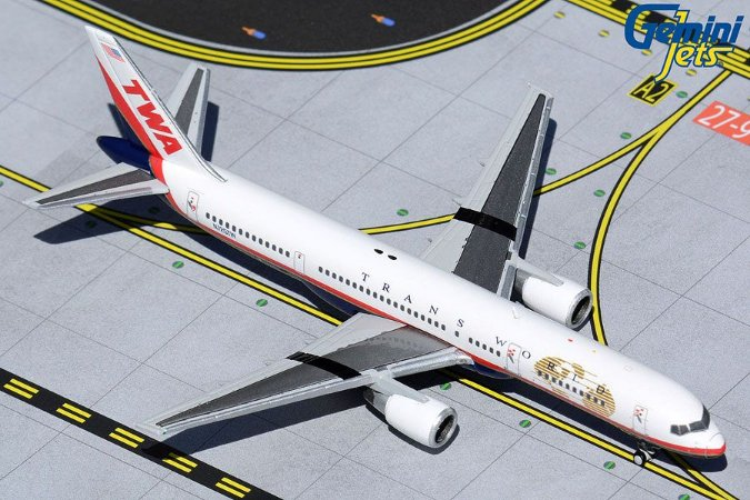 Gemini Jets 1:400 Trans World Airlines Boeing 757-200