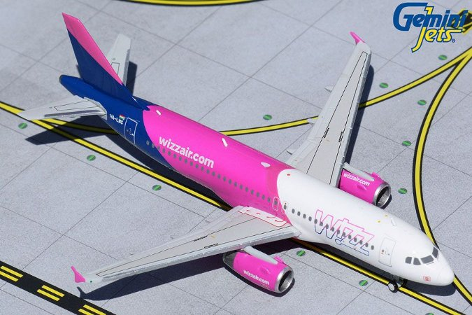 Gemini Jets 1:400 Wizz Air Airbus A320-200