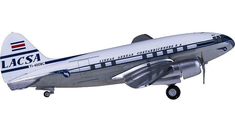 Aeroclassics 1:200 LACSA Curtiss C-46 Commando