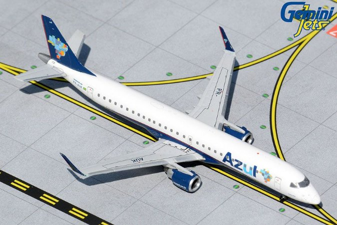 PRÉ- VENDA - Gemini Jets 1:400 Azul Embraer 195