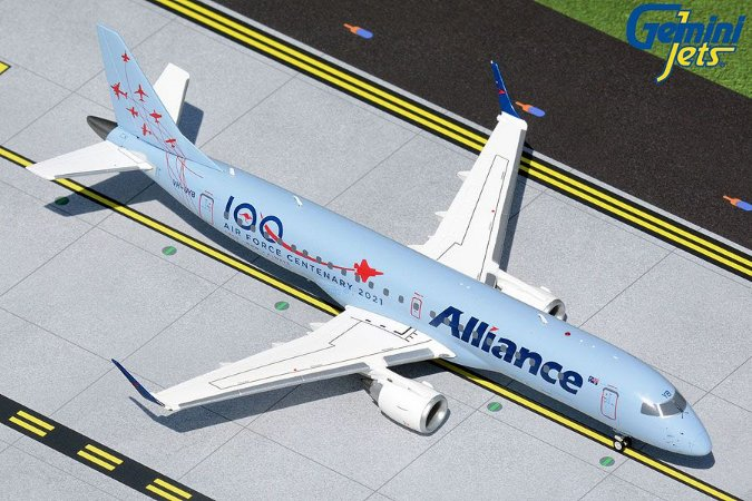 """Gemini Jets 1:200 Alliance Airlines Embraer 190 """"Air Force Centenary 2021"""""""