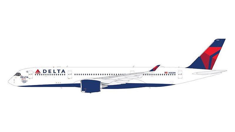 "PRÉ- VENDA Gemini Jets 1:200 Delta Airlines Airbus A350-900 ""The Delta Spirit"""