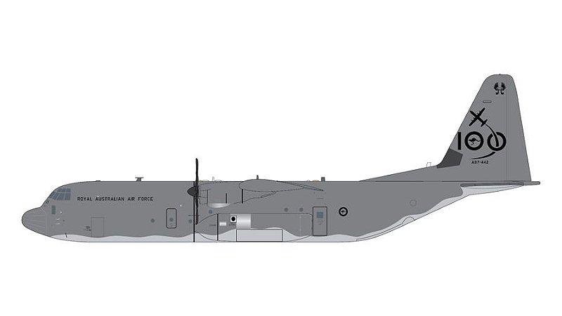 PRÉ- VENDA Gemini Jets 1:200 Royal Australia Air Force Lockheed C-130J Hercules