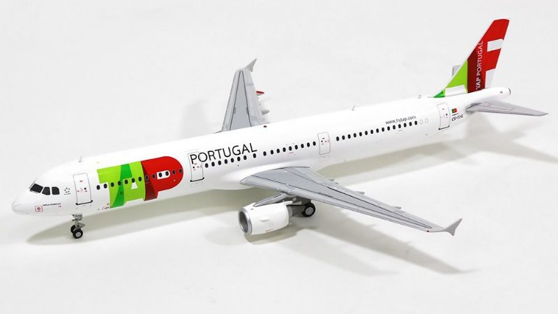 JC Wings 1:200 TAP Airbus A321