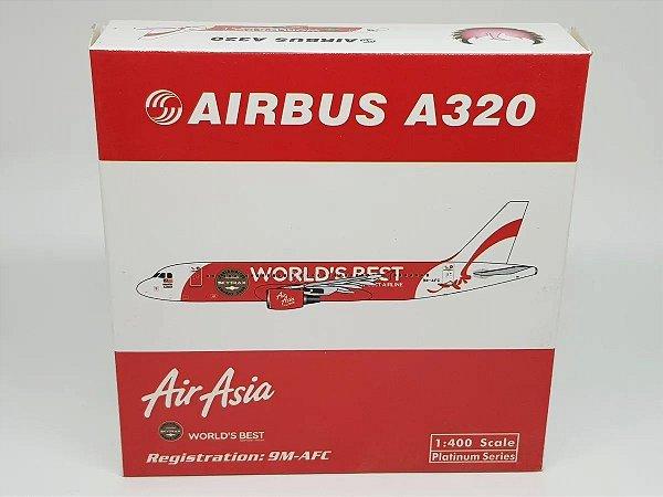 "Phoenix 1:400 Air Asia Airbus A320 ""World's Best"""