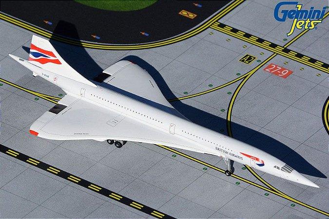 Gemini Jets 1:400 British Airways Aerospatiale Concorde