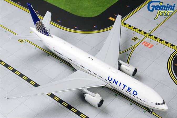 Gemini Jets 1:400 United Airlines Boeing B 777-222ER