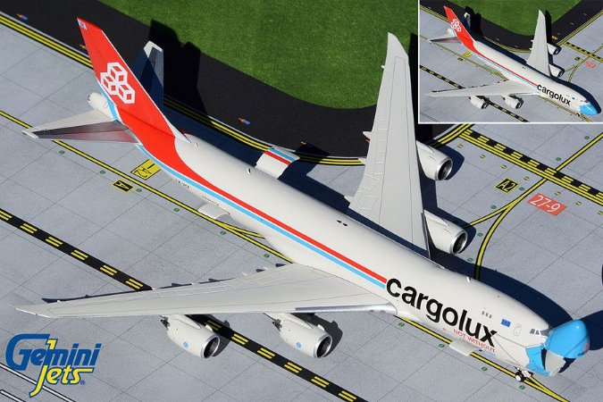 Gemini Jets 1:400 Cargolux Boeing 747-8F