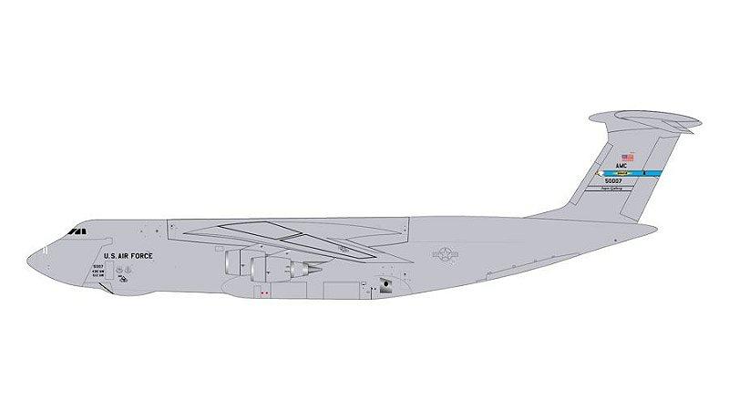 "PRÉ- VENDA Gemini Jets 1:400 United States Air Force Lockheed C-5M Galaxy ""Dover AFB"""