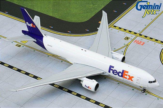 Gemini Jets 1:400 FedEx Boeing B777-200LRF