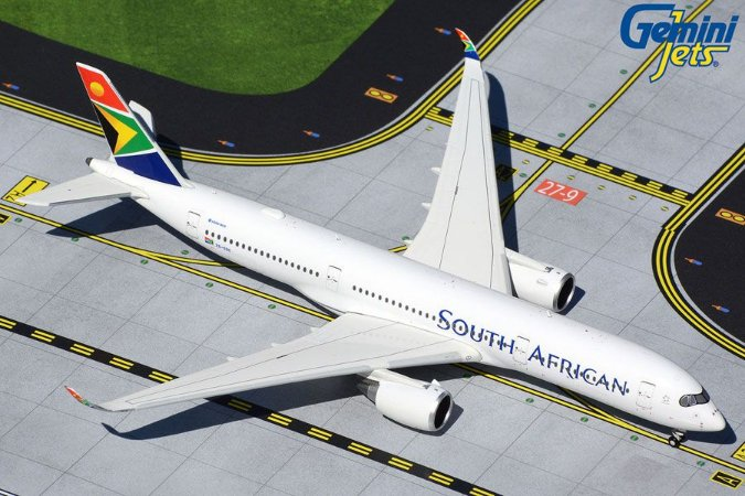 Gemini Jets 1:400 South African Airbus A350-900