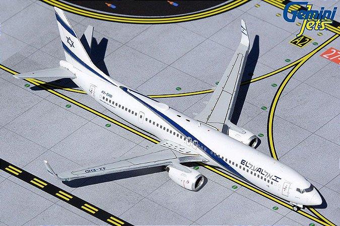 "Gemini Jets 1:400 El Al Boeing B 737-900ER ""Peace"""