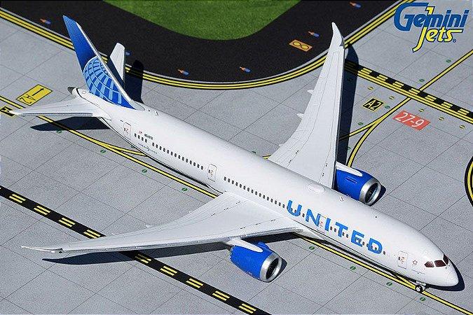 Gemini Jets 1:400 United Airlines Boeing B 787-9 Dreamliner