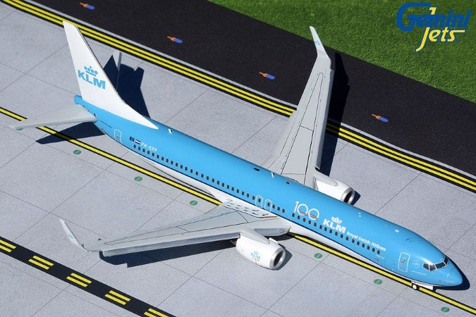 Gemini Jets 1:200 KLM Royal Dutch Airlines Boeing 737-900 Flaps/Slats Extended