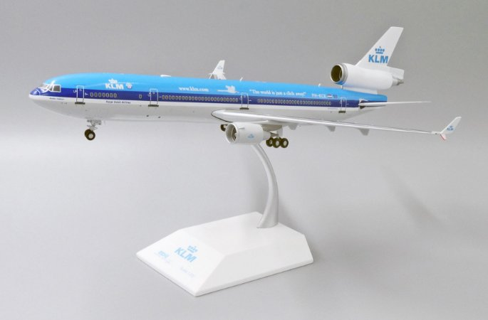 """JC Wings 1:200 KLM MD-11F """"The World is Just a Click Away"""""""