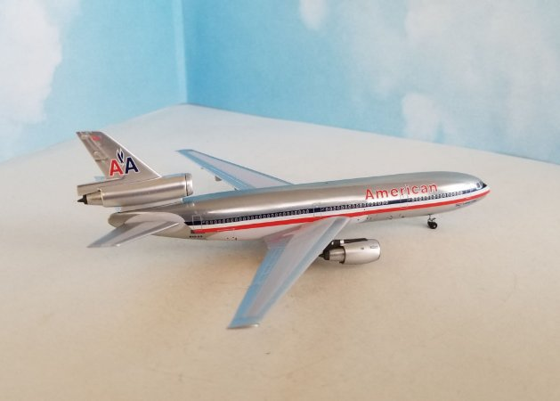 PRÉ-VENDA - Aeroclassics 1:400 American Airlines Douglas DC-10-30