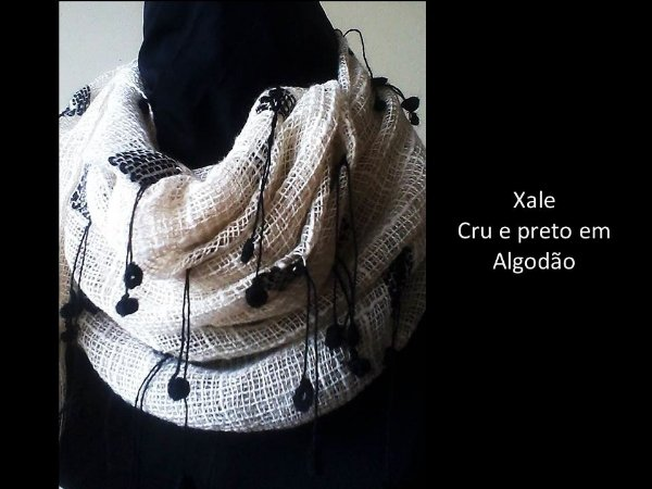 XALE CRUDE QUADROS PRETOS
