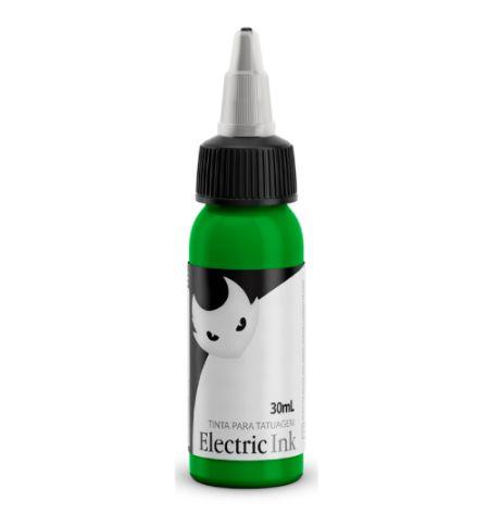 Tinta Para Tatuagem Electric Ink 30ml - Verde Limão