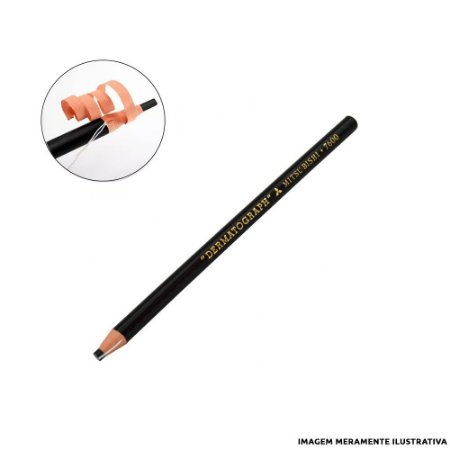 Lápis Dermatográfico Mitsubishi Preto