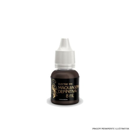 Marrom Escuro Electric Ink - 8ml