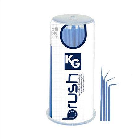 Aplicador Descartável KG BRUSH Fine - Azul