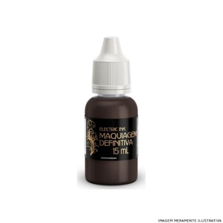 Marrom Escuro Electric Ink  - 15ml