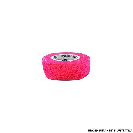 Fita Elástica Antiderrapante Rosa 2,5cm