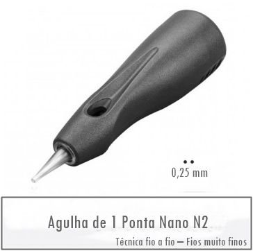 Agulha de 01 Ponta Linelle II
