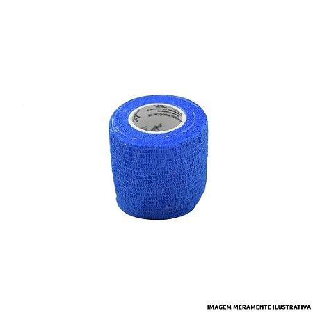 Fita Elástica Antiderrapante Azul 4,0 cm
