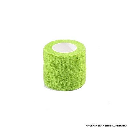 Fita Elástica Antiderrapante Verde 4,0 cm