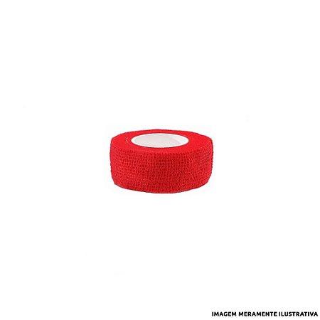Fita Elástica Antiderrapante Vermelha 2,5cm