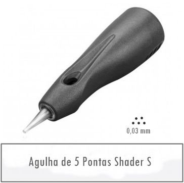 Agulha de 5 Pontas Shader S - Linelle II E0405