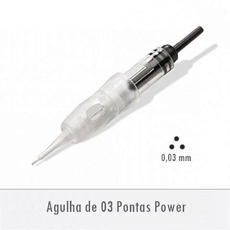 Agulha de 03 Pontas Power - Supreme E0253PA