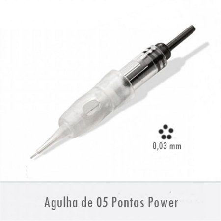 Agulha de 05 Pontas Power - Supreme E0255PA