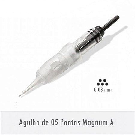 Agulha de 05 Pontas Magnum A - Supreme E0255MA